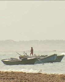 Praia de Caetanos de Cima, no litoral oeste do Ceará