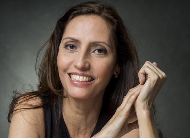 Claudia Souto, autora de 'Pega Pega' (Foto: Maurício Fidalgo/TV Globo)