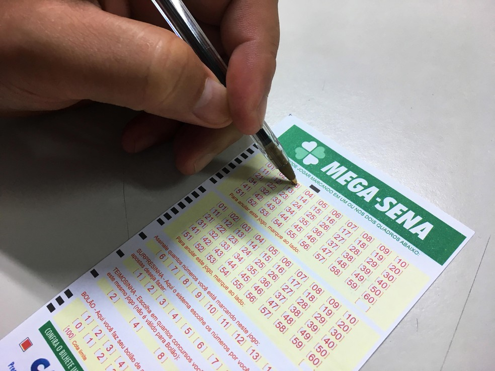 Mega-Sena pode pagar R$ 97 milhões nesta quarta (Foto: Heloise Hamada/G1)