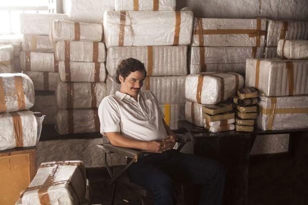 Wagner Moura em Narcos (Foto:  Daniel Daza/Netflix )