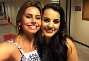 Daiane Fardin e Allice Tirolla Estúdio C The Voice Brasil (Foto: Divulgação/ RPC)