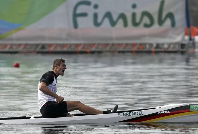 Sebastian Brendel canoagem (Foto: Reuters)