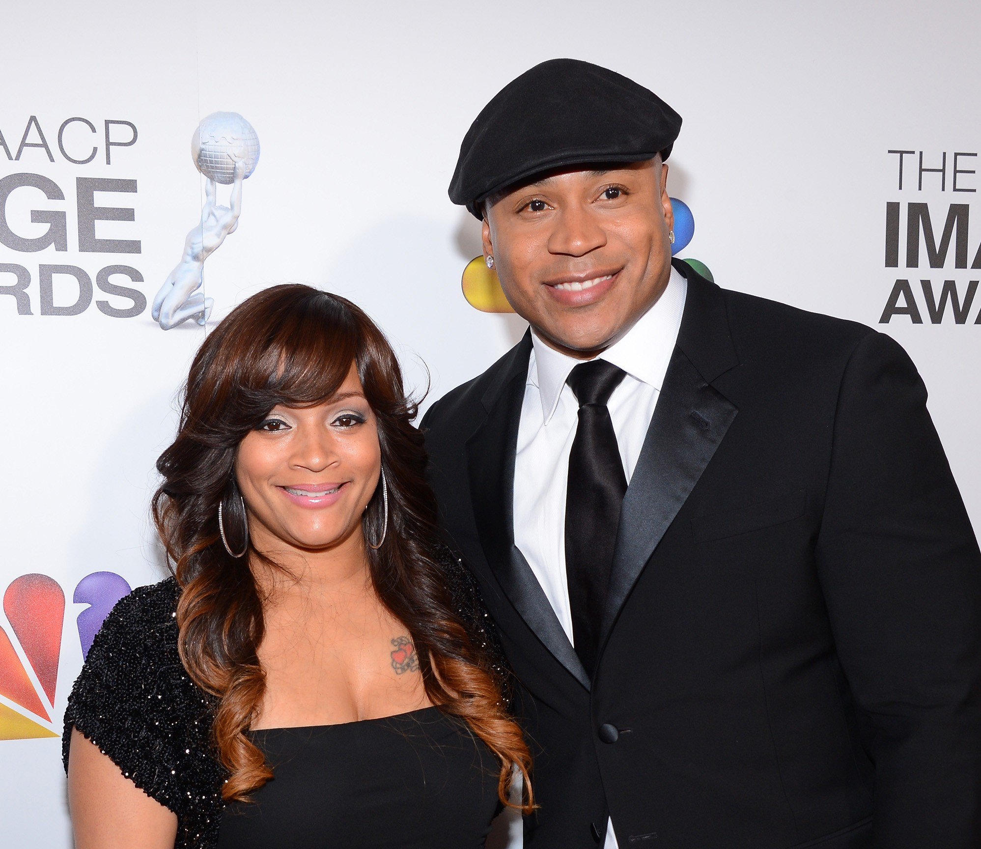 LL Cool J e Simone Johnson (Foto: Getty Images)
