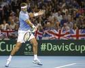 Em jogão de 5h, Del Potro bate Andy Murray; Argentina abre 2 a 0 na semi