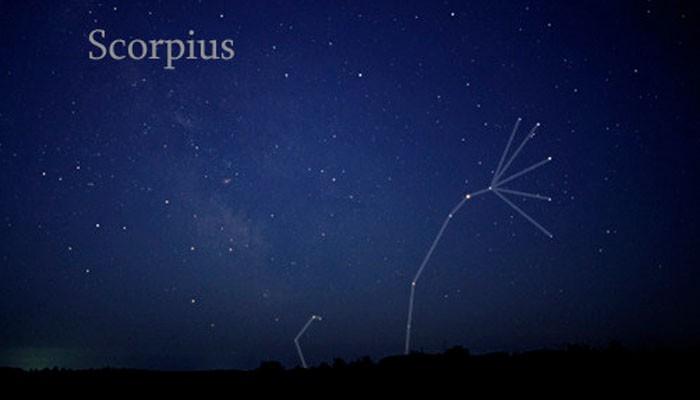 A constelação de Scorpius vista a olho nu (Foto: Wikimedia/Till Credner )