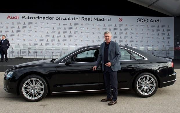 Carlo Ancelotti carro Audi