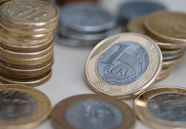 Inflação ; dinheiro ; real ; custo de vida ; IPCA ; recessão ; Boletim Focus ; moedas ;  (Foto: Marcello Casal Jr/Agência Brasil/Arquivo)