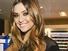 Na faculdade, Polliana Aleixo quer voltar à TV: 'Sinto falta das gravações'