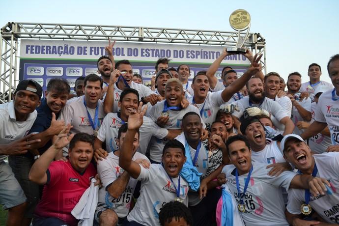 Espírito Santo campeão da Copa ES (Foto: João Brito/GloboEsporte.com)