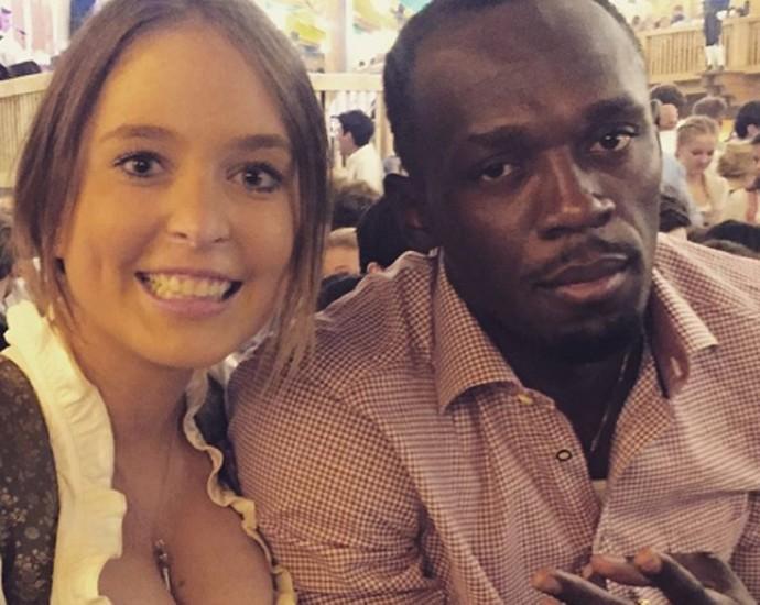 Usain Bolt Oktoberfest Munique (Foto: Reprodução/Instagram)