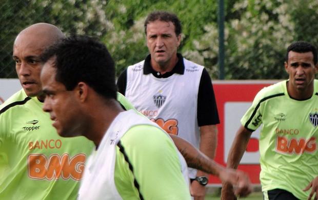 Técnico Cuca, do Atlético-MG (Foto: Tarcísio Badaró / Globoesporte.com)