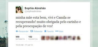 Sophia Abrahão (Foto: Twitter / Reprodução)