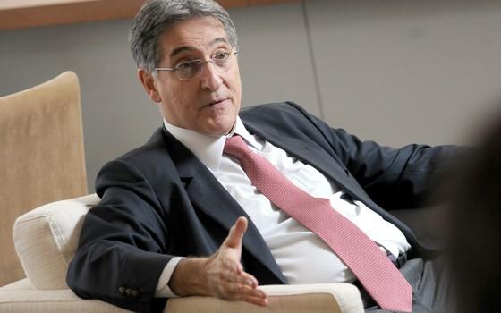 Fernando Pimentel, Governador Estado de Minas Gerais, durante visita ao jornal Valor Economico (Foto: Silvia Costanti/Valor)