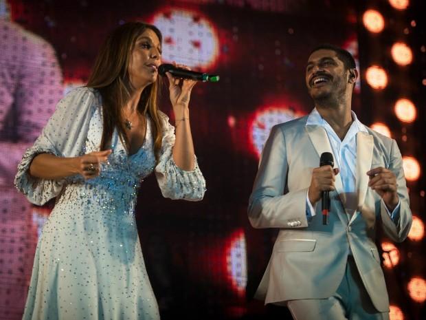 Ivete e Criolo fazem show em homenagem a Tim Maia em Salvador (Foto: Carlos Stein/Divulgação)
