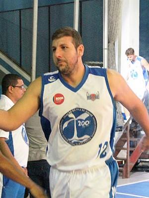Atílio, jogador do Macaé Basquete (Foto: Divulgação)