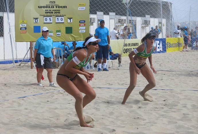 Maria Clara e Carol admitem que é praticamente impossível irem às Olimpíadas (Foto: Gabriel Fricke)