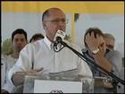 Alckmin descarta possibilidade de tirar água do interior para a capital