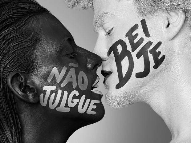 Ação 'Liberte seu beijo' é da marca de creme dental Closeup. (Foto: Divulgação)