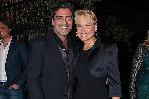 Junno Andrade e Xuxa Meneghel (Foto: Manuela Scarpa/Brazil News)