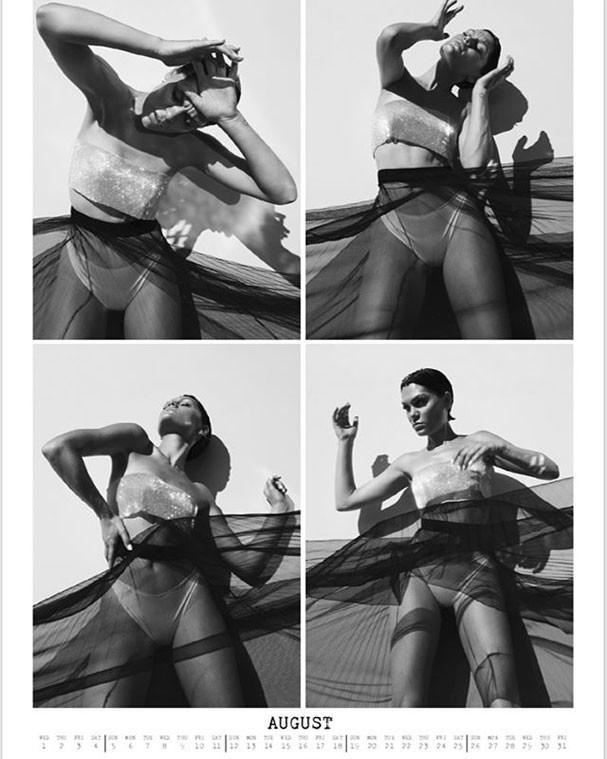 Jessie J em imagem do mês de agosto (Foto: Reprodução/Instagram)