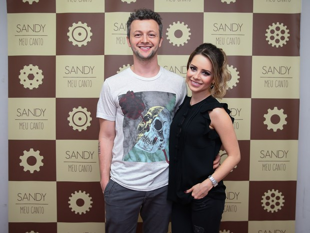 Sandy e Lucas Lima em show em Paulínia, em São Paulo (Foto: Manuela Scarpa/ Brazil News)