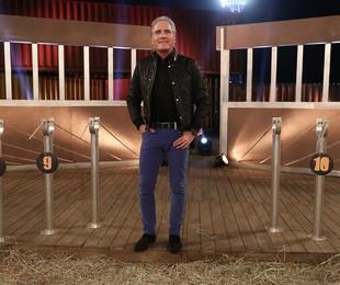 Roberto Justus em 'A fazenda' | Reprodução