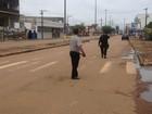 Cinco suspeitos tentam arrombar caixa eletrônico com explosivo em RO
