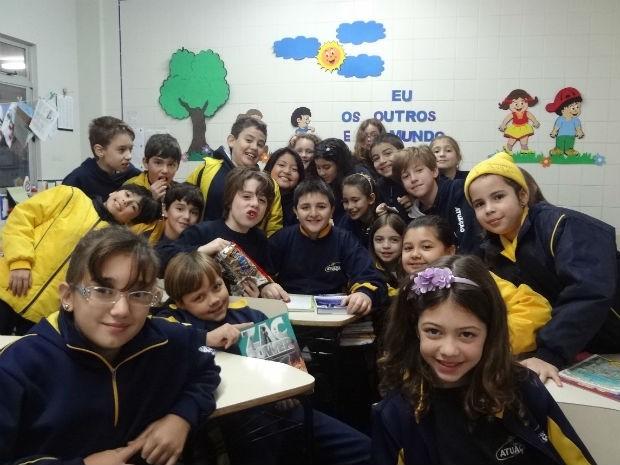 Lucas conta que ficou famoso na escola após as palestras (Foto: Adriana Justi / G1)