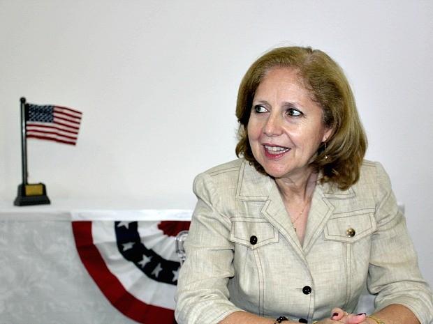 Embaixadora dos EUA faz visita ao Amazonas (Foto: Camila Henriques/G1 AM)