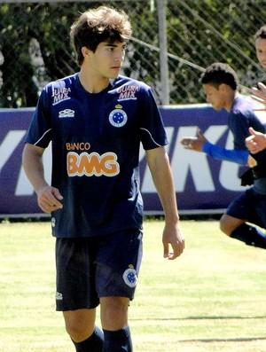 Lucas Silva Cruzeiro treino (Foto: Leonardo Simonini / Globoesporte.com)