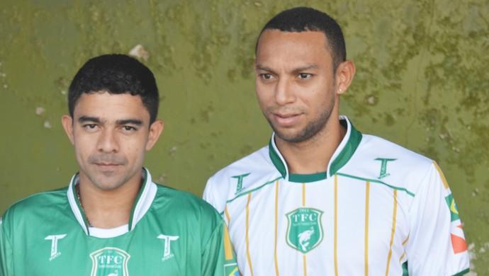 Atletas do Tapajós Futebol Clube (Foto  Gustavo Campos GloboEsporte.com) 449501cc029fb