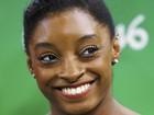 Ginastas capricham na maquiagem para provas na Olimpíada Rio 2016
