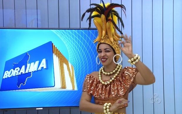 Cantora Euterpe fará show no carnaval (Foto: Roraima TV)