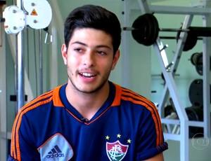 O italiano Mirko Di Piero (Foto: Reprodução TV Globo)