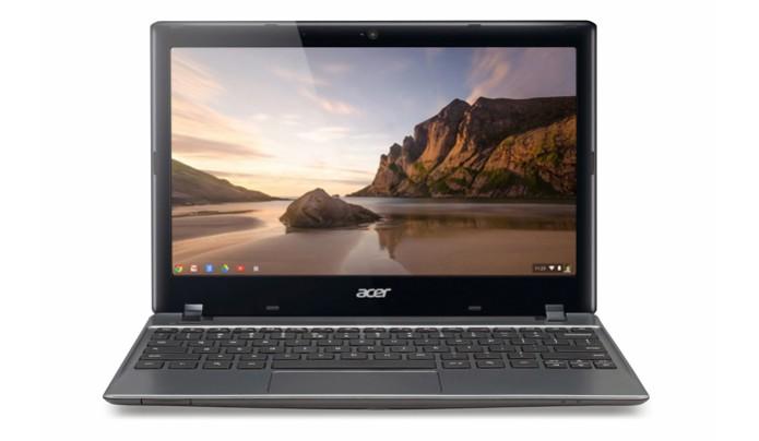 CES deve ter, entre outros, novos Chromebooks, como o Acer C710, primeiro do tipo no Brasil (Foto: Divulgação/Acer)