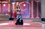Vencedora de concurso nacional de dança do ventre se apresenta no 'Encontro'
