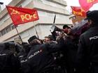 Manifestação por morte de Fidel Castro provoca briga em Madri