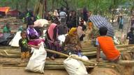 Bangladesh tem vacinação para refugiados que fogem de Myanmar