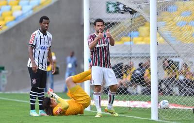 Fred, Fluminense X Corinthians (Foto: Andre Durão)
