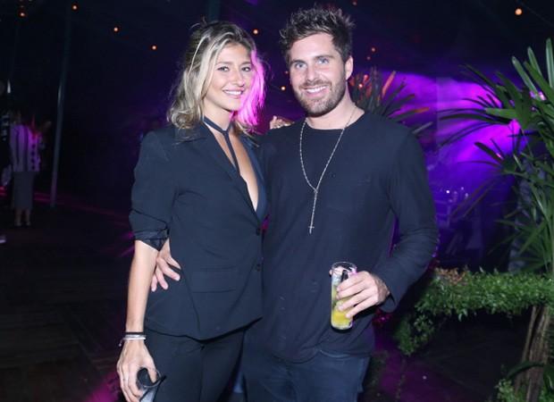 Thiago Gagliasso e Isabela Rozental (Foto: Anderson Borde/Agnews)