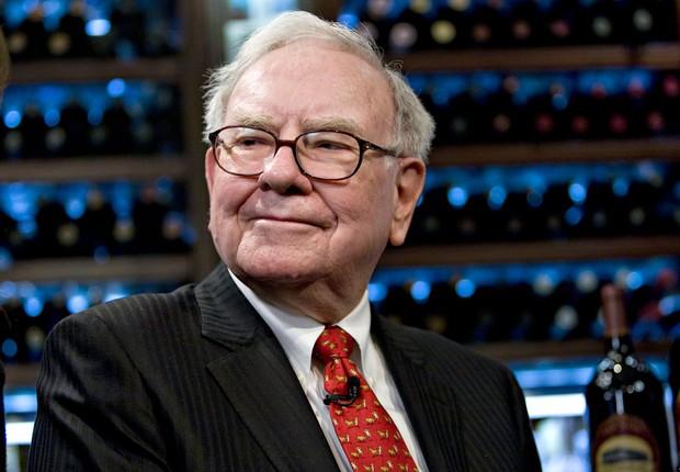 O bilionário americano Warren Buffett é um dos fundadores da campanha Giving Pledge (Foto: Reprodução/NBC)