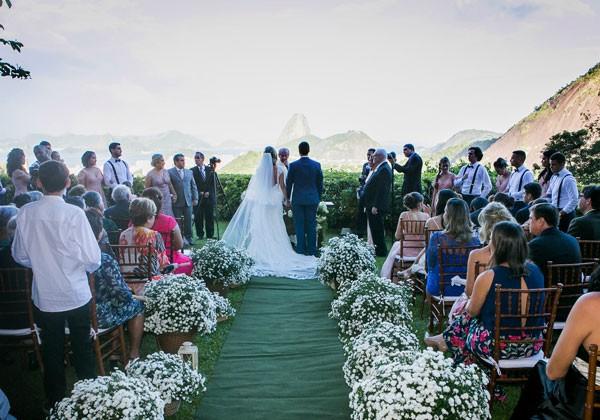 Casamento realizado pela Nicole Ofeiche com sua sócia Luciana Josetti (Foto: Victor Miguel)
