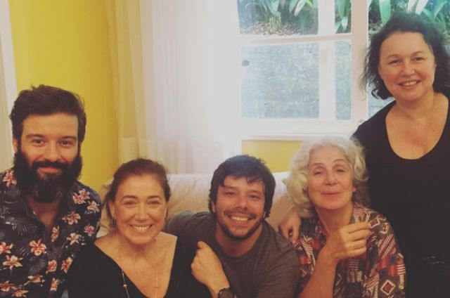 Gustavo Vaz, Lilia Cabral, João Paulo Jabur, Juliana Carneiro da Cunha e Kelzy Ecard (Foto: Esperança Motta)