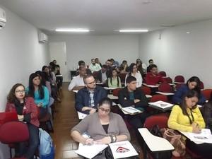 Curso é promovido pelo Instituto de Criminologia de Pernambuco, em Caruaru, Agreste de Pernambuco (Foto: Divulgação/ Ascom ICP)