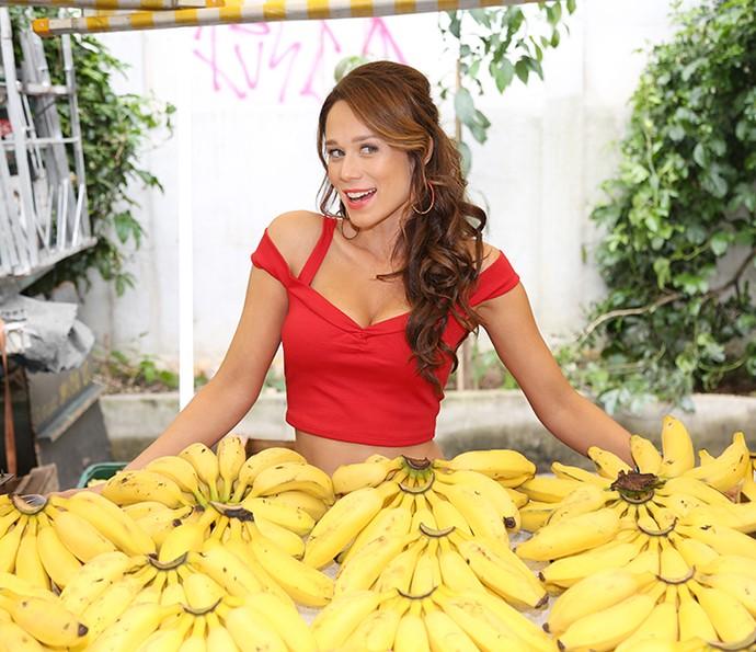 Mariana Ximenes diz que alegria de viver de Tancinha a influencia (Foto: Carol Caminha/Gshow)