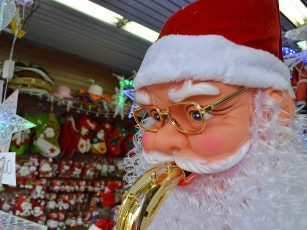 Comércio de Piracicaba já se prepara para o período de vendas de Natal (Foto: Leon Botão/G1)