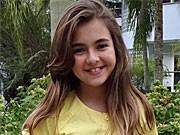 Klara Castanho elogia o visual de Clara (Amor Eterno Amor/TV Globo)