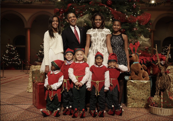 Família Obama (Foto: Reprodução)