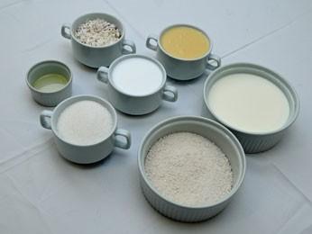 Ingredientes do bolo de tapioca. (Foto: Divulgação/ Senac)