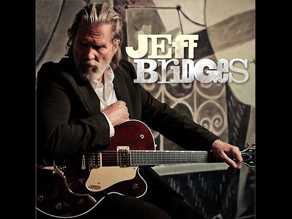 Capa do álbum do ator Jeff Bridges (Foto: Divulgação)